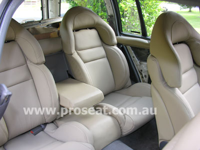 Genuine Italian Leather Hsv Vx Coulson Style Seats Holden